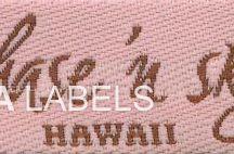 Apparel Labels - Woven / Woven Custom Apparel Labels