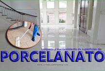 LIMPIAR SUELOS DE PORCELANATO (PORCELANICOS)