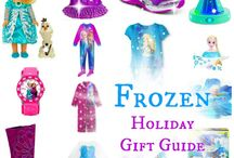 Everything FROZEN / Everything you'll ever need to decorate, dress, feed or gift your children and friends with Disney's Frozen! / by Erica Voll