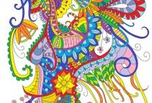 Finished Stay Inspired Coloring Pages / People who've colored Stay Inspired coloring pages-- send yours in and let us know to get pinned!
