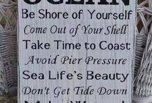 Ocean and all things Beachy :)