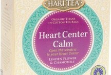 Heart Center Calm - Open the window to your Heart Center. / A loose tea mixture of organic herbs and spices in pure cotton tea bags, featuring linden flowers and chamomile to support the sensation of seeing with your heart. This is a fine tea to drink when you want to have the loving viewpoint.