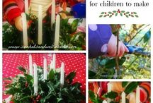Advent / Advent Activities & Crafts for Children / by Sun Hats & Wellie Boots