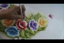 Pintura en tecio