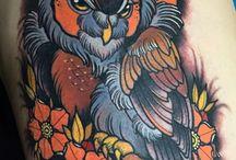neo trad tattoo
