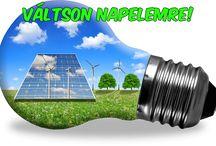 Napelemek / Megújuló energia