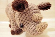 hipopotam, nosorożec - szdełko