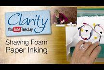 shaving foam backgrounds