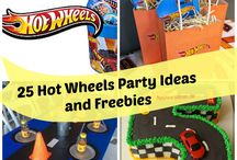 Hot Wheels Party Ideas and Freebies