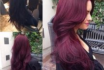 Lovely hair collor