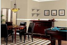 Dining room ideas / Dining room come pool table
