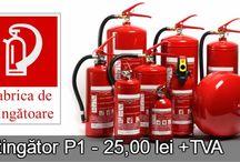 Stingătoare de incendiu / Extintoare de incendiu