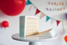 vanilla cake for stacking