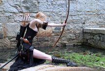 waRRiors and goDDeSSes / warriors, goddesses, and mythology stuffs