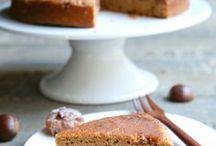 gâteau crème marron