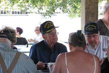 Crew Reunion / Battleship NORTH CAROLINA Annual Crew Reunion.  The USS NORTH CAROLINA Battleship Association is an organization of the Battleship's crew and their families. The Association hosts an annual reunion in Wilmington. The crew and families very much look forward to their annual return to the Battleship to share stories, visit old friends and make new ones. The love they have for their ship makes a powerful bond.