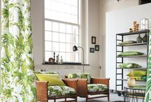 Chivasso Monsoon / The arrival of the monsoon rains bring new life and energy, a vibrant life source, a fresh burst of inspiration, a deluge of exciting ideas and a cloudburst of fresh colours and bold prints.