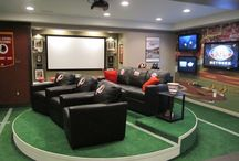 Ultimate Man Caves / Man Cave ideas and inspiration from all over / by The Nate State of Mind