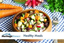 Healthy Meal Ideas / Searching for a healthy meal option for your family? Try out one of these tasty recipes.  / by Meritage Homes