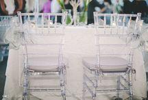 Chiavarii chairs decoration