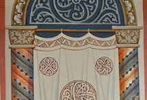 Роспись храма. Фрески