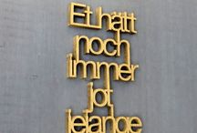 AND THIS IS COLOGNE / In Cologne Ehrenfeld we design our basic t-shirts and choose the different materials we use. On Ehrenstraße 84 your find our first retail store ♂ ♀.  On this board we collect impressions of this town which inspires us - feel free to join & share your impressions of Cologne: Just leave a comment below one of our pins