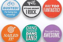 Cool Badges and Pins