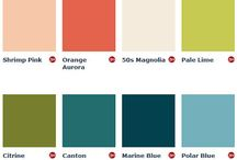 Interior colours / Beautiful colour combinations
