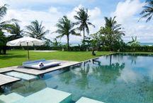 Beachfront 2 bedroom luxury Villa Seseh