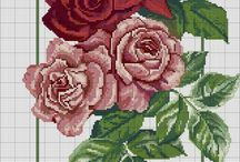 rose stitchery