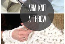 Knitting Oversized Blankets