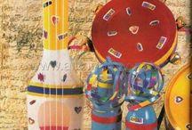 instrumentos  musica si para berçários
