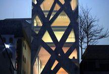 Arquitectura moderna / Fachadas, Edificios