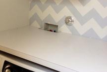 LAUNDRY / Laundry Room, Laundry Room Ideas, Washer & Dryer Space, Laundry Room Storage, Laundry Room Tips, Laundry Room Space, Designing A Laundry Room