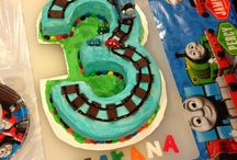 Oliver's Thomas 3rd Birthday