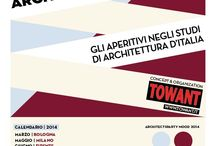 ArchitectsParty Italia| 2014 / The aperitifs inside the architectural studios of Italy Organization byTOWANT