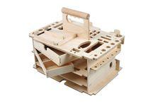Boîte à outils bois