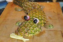 arte con frutas