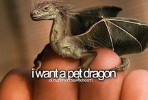 if there be dragons / by Chelle