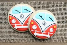 Vehicle and Transportation Cookies