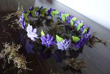 Tiaras - Coroas de flores