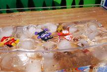 アンパンマンおもちゃアニメ❤氷水のプールとバイキンマン Anpanman toys