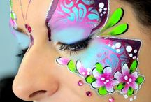 butterfly facepaint