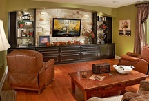 Basement Fan Cave Ideas / by Emily Hare