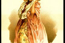 French Old Trade Cards