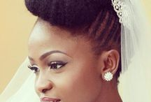 Dream Wedding Looks | Natural Hair Brides / Discover what ultimate dream wedding looks for the natural hair bride is supposed to be like...