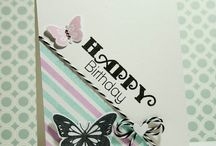 Birthday Cards / Inspiration