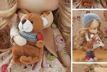 boneca e bonequinhas