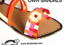 návrháři-sandály
