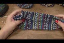 ponožky od špičky